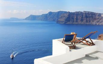 Santorini Luxe Resort Verandah
