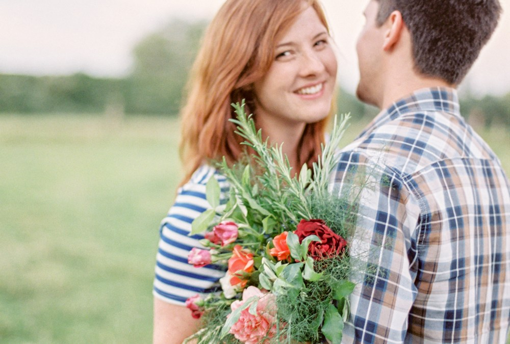 Couple Session in the Countryside | Summer Romance