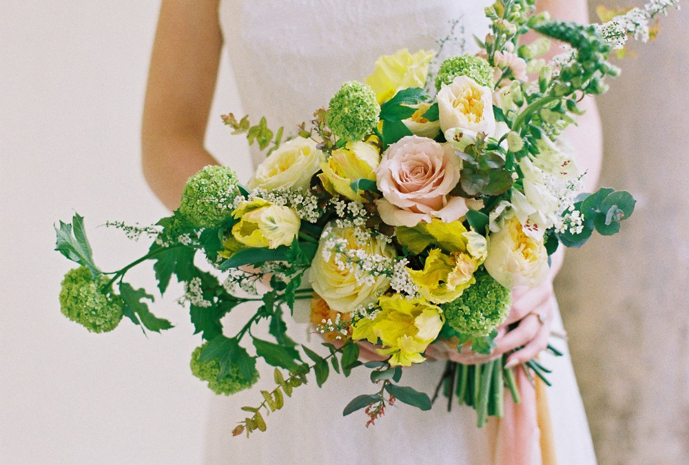 Warm colour palette wedding ideas