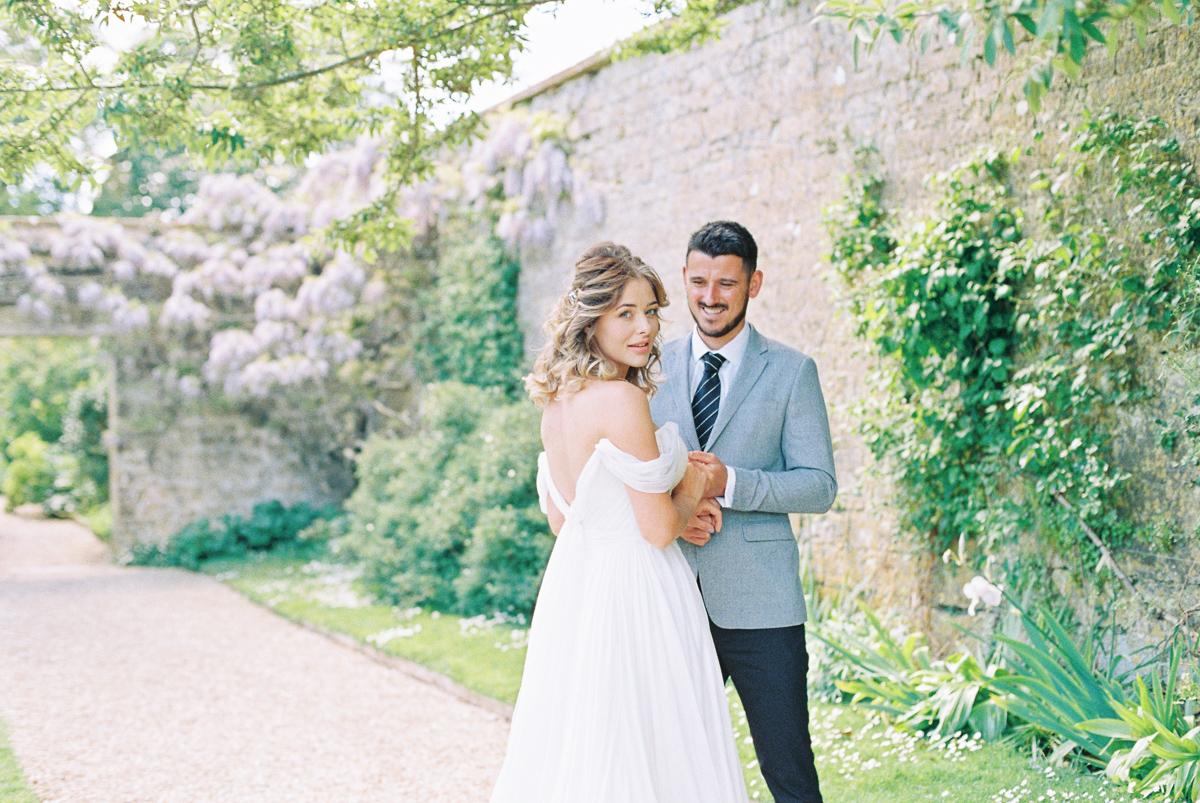 Mapperton Weddings | English Garden Wedding | Liz Baker Photography