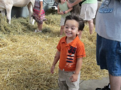 Alex at the Indiana State Fair (2012)