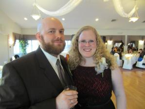 At Chalupa's brother's wedding (2012)