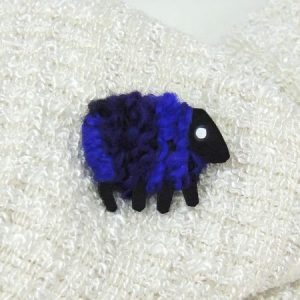 Lizzyc|purple|sheep|brooch|layla|