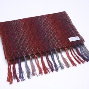 irish-mens-scarf-ploughman-portnoo-red