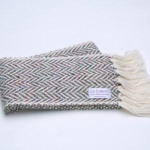 skinny-irish-handwoven-scarf-herringbone-fossil-grey