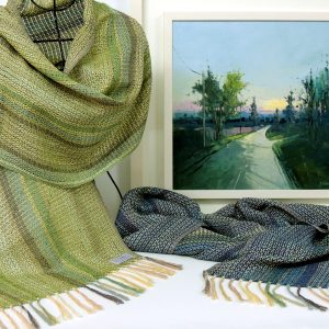 liz-christy-scarf-kate-beagan-painting