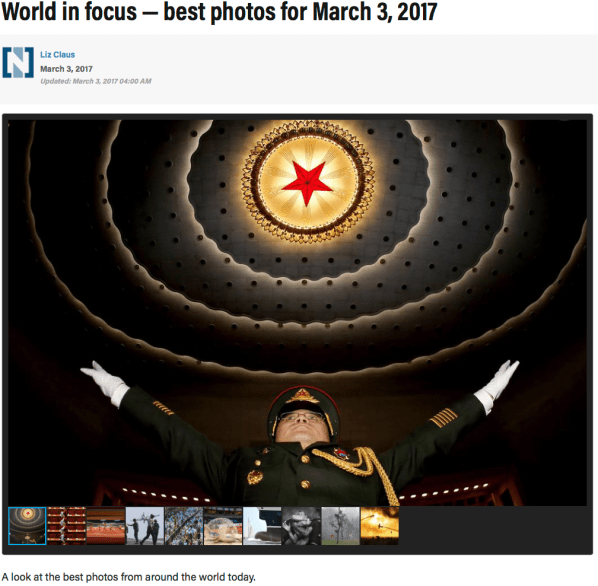 World in focus — best photos for March 3, 2017