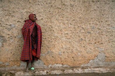 Maasai village October 11, 2011.