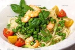 Spaghetti, Peas and Frutti di Mare