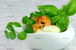 Avocado's Cream And King Prawns© Liz Collet
