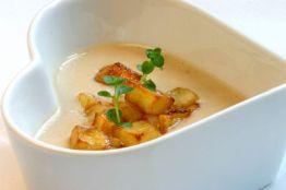 Weisse Bohnen mit Kartoffelcroutons und Thymian © Liz Collet