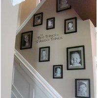 Decoração em escada