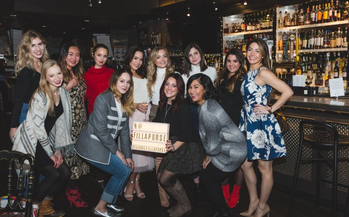 'fill a purse' – bloggers give back: my holiday charity event recap!