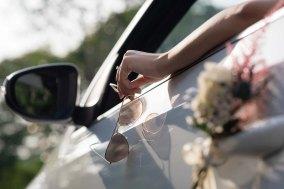 Bridal Car Deco