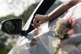 Bridal Car Deco