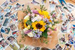 Proposal Bouquet Singapore, Proposal Flowers Singapore, Sunflower Bouquet, Custom Proposal Bouquet, Liz Florals