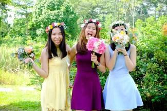 Bridesmaid Bouquet Singapore, Rustic Prewedding Bouquet, Bridesmaid Flowers