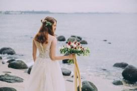 Beach Wedding, Bridal Bouquet Singapore, Rustic Wedding