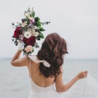 Bohemian Wedding Bouquet, Beach Wedding, Singapore Wedding