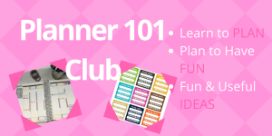 Planner 101 Club Super Soft Launch and What It Is