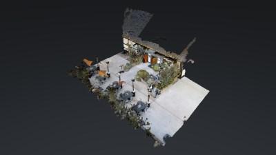 Succulent Cafe 3D Model