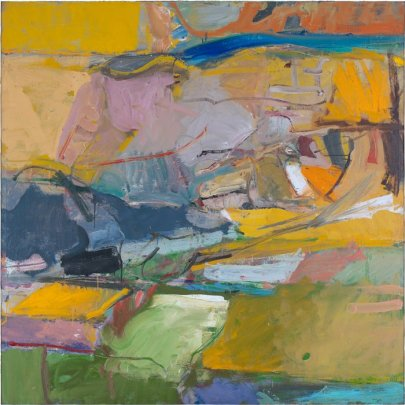 Richard Diebenkorn, Bekeley #57, 1955 Oil on canvas Courtesy SFMOMA