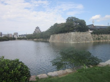 A real-life moat!