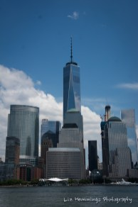 Freedom tower from Hudson River