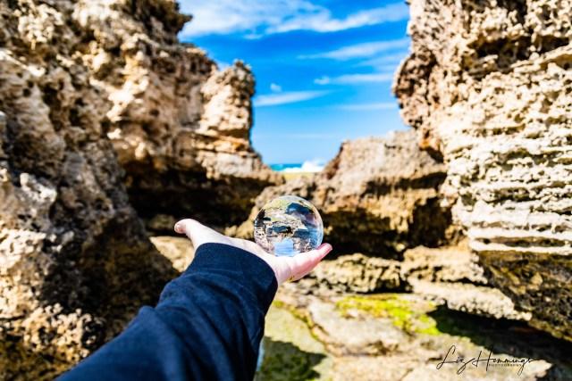 Anglesea Beach Lens Ball