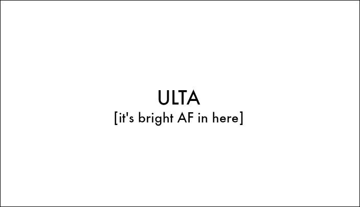 ULTA BRIGHT