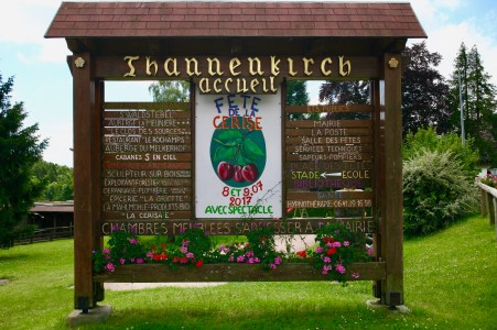Thannenkirch Community Sign