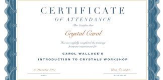 Workshop Certificate