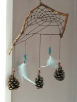 Hand crafted Earth to sky dream catcher