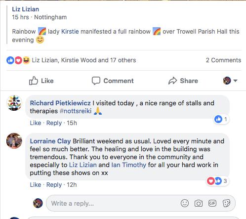 Nottingham Review : LizianEvents : LizianEvents