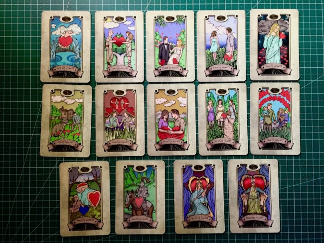 Hearts : Simon Goodfellow's Spiritual Tarot Deck : LizianEvents : Lizian Events ; Well Being : LifeStyle