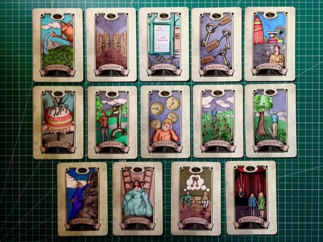Keys : Simon Goodfellow's Spiritual Tarot Deck : LizianEvents : Lizian Events ; Well Being : LifeStyle