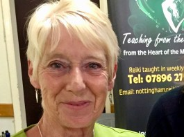 Marie Kerry. Nottingham Reiki. LizianEvents. Lizian Events. Wellbeing. Well Being