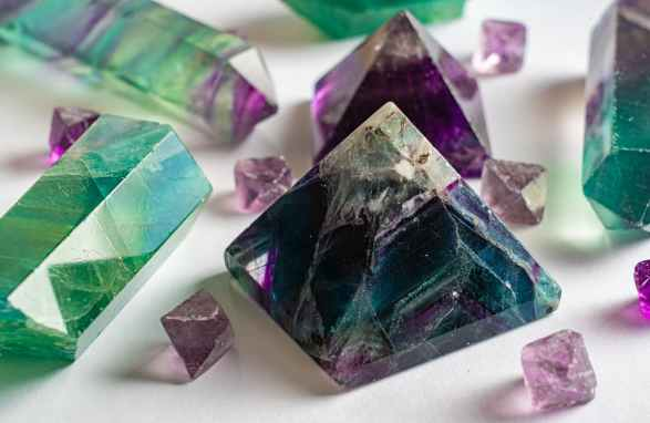 blue purple luxury gift