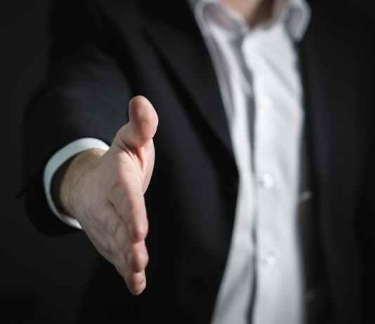 close up of human hand