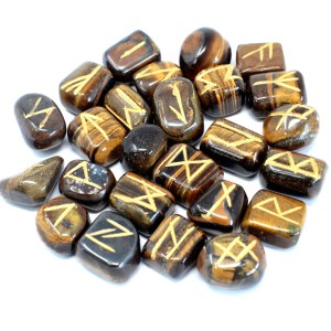 Tiger Eye: Crystal Runes: LizianShop