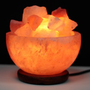 Salt Bowl Lamp: Salt Lamp: Himalayan Salt Lamp: Salt Chunks: LizianShop