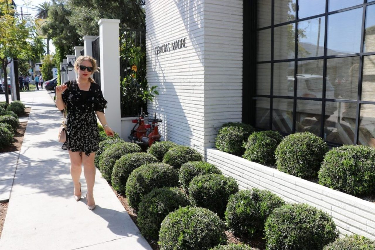 Floral Dress for Spring by Liz in Los Angeles, Lifestyle Blogger