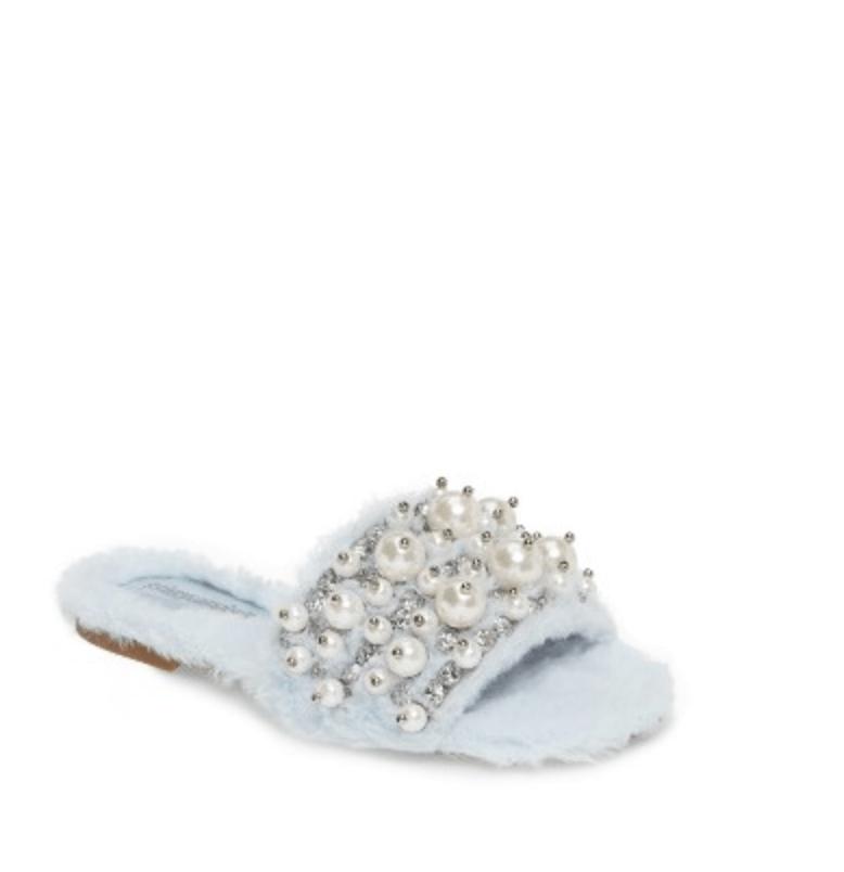 Jeffrey Campbell Facil Embellished Slide Sandal,