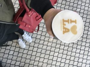 The Best Latte Art Cafe in LA By Liz in Los Angeles, Los Angeles Blogger
