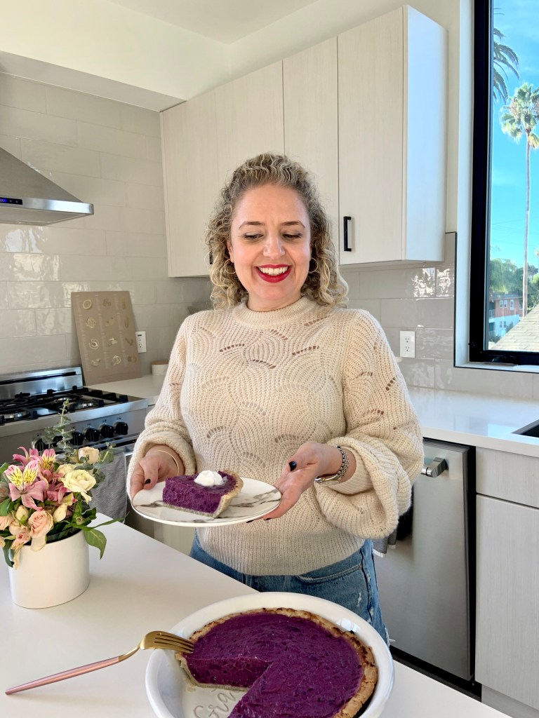 Vegan & Gluten-Free Recipe for Stokes Purple® Sweet Potato Pie by Liz in Los Angeles, Los Angeles Lifestyle Blogger