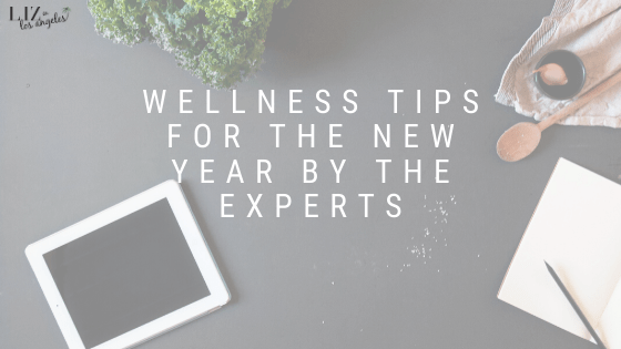 Wellness Tips for the New Year by the experts, a blog post by Liz in Los Angeles, Los Angeles Lifestyle Blogger: an image of a laptop and notebook with spices