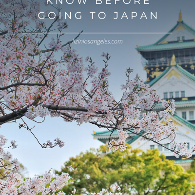 10 Things to Know Before Going to Japan
