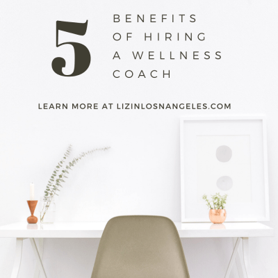 What is a Wellness Coach, a blog post by Liz in Los Angeles, Los Angeles Lifestyle Blogger: an image of a desk with plants and chair