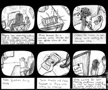 USER JOURNEY STORY // Storyboards help foster an empathetic approach to problem-solving