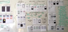 WIREFRAME AND USER FLOW REFINEMENT // Going deeper with the core UI approach and high-level flow, the next level of detail needs to be tackled -- interactive states, use case scenarios, etc.